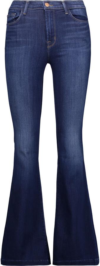 J BrandJ Brand Maria high-rise flared jeans