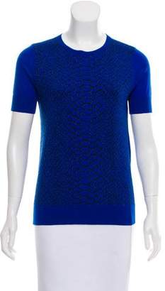 Magaschoni Wool-Blend Top