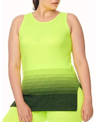 2cf88bb18c at Walmart.com · Under Control Women's Plus Size Active Tunic Tank with Ombre  Graphic