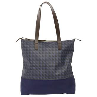 Baum und Pferdgarten Blue Leather Handbag