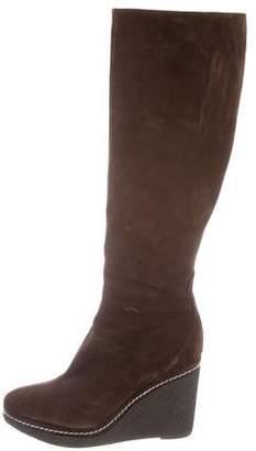 Castaner Suede Wedge Boots