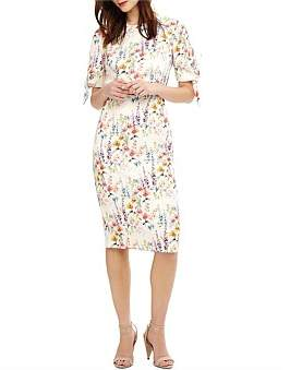 Phase Eight Bella Floral Sleeved Dress