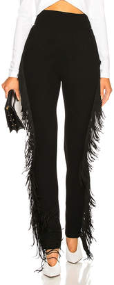 David Koma Side Fringe Trousers