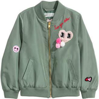 H&M Bomber Jacket - Green
