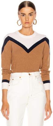Veronica Beard Bradford Pullover Sweater in Navy Multi | FWRD