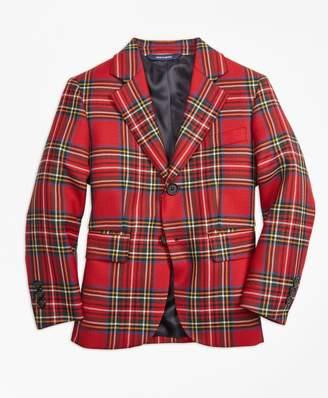 Brooks Brothers Boys Two-Button Tartan Jacket