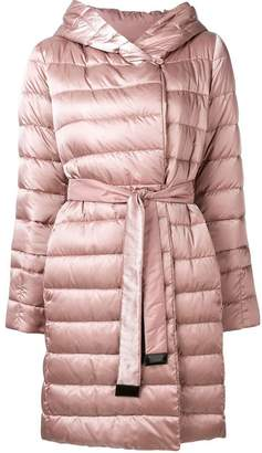 Max Mara 'S quilted shell coat
