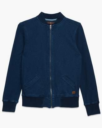 7 For All Mankind Boys S-XL Bomber Jacket in Indigo