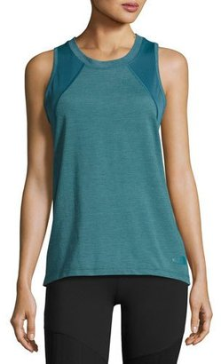 The North Face Reactor Mesh-Panel Tank Top, Turquoise $25 thestylecure.com