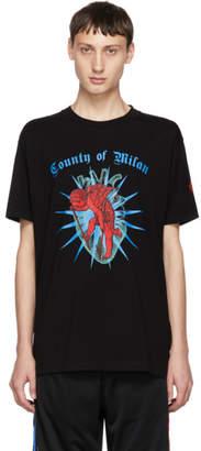 Marcelo Burlon County of Milan Black Cupido T-Shirt