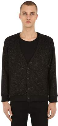 b40e2d37 Iman Lifted Anchors Knit Cardigan W/ Lurex