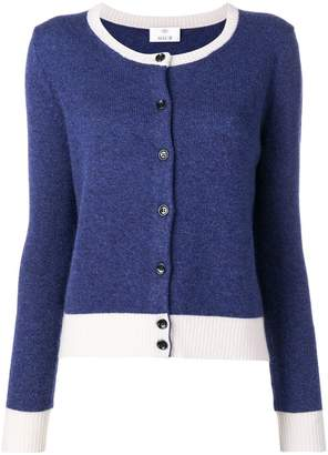 Allude colour-block cardigan