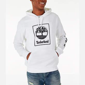 Timberland Mens Boxed Logo Hoodie