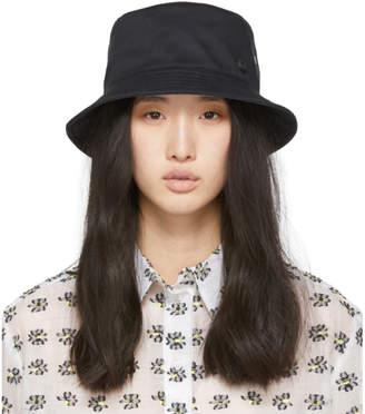 Maison Michel Black Jason Bucket Hat