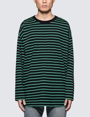 Monkey Time Striped L/S T-Shirt
