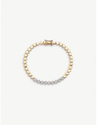 Rosegold The Alkemistry Kismet by Milka 14ct star rose-gold and diamond bracelet