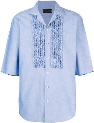 DSQUARED2 ruffle-trimmed shirt
