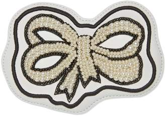 Ace pearl bow patch $350 thestylecure.com