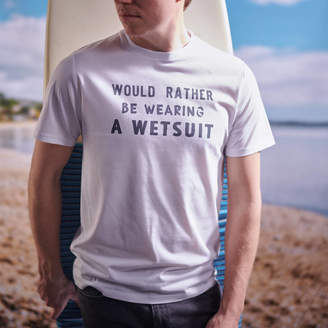 Oakdene Designs 'Would Rather Be Wearing' Men's Hobby T Shirt