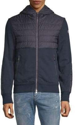 Moncler Full-Zip Hooded Jacket