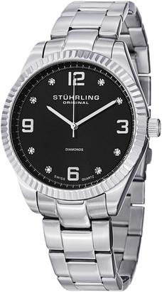 Stuhrling Original Sturling Original Men's Allure Diamond Watch