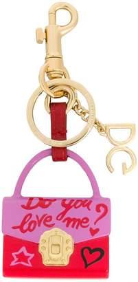 Dolce & Gabbana Lucia bag keyring