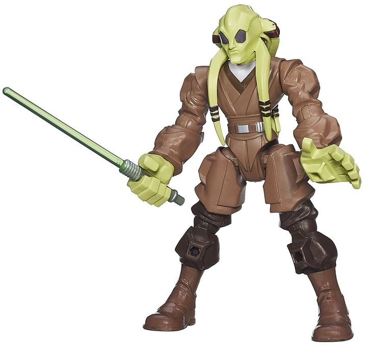 Hasbro Star Wars: Episode II Attack of the Clones Hero Mashers Kit Fisto Figure by Hasbro