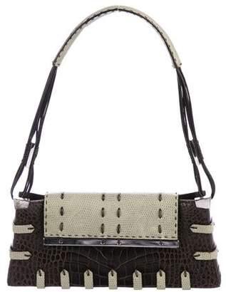VBH Crocodile & Lizard Diva Bag