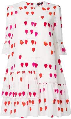 Alexander McQueen petal print dress