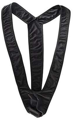 e6315d4348b4d JXJCVF Men s Sexy V Sling Stretch Jockstrap Mankini Halloween Man Bodysuit  Borat Underwear Thong