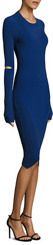 DKNYDkny Rib-Knit Cutout Dress