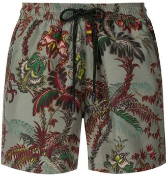 Etro floral print swimming shorts