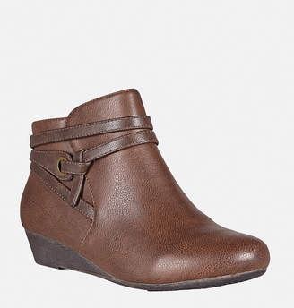Avenue Randi Knot Wedge Ankle Boot