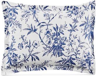Martha Stewart Collection Closeout! Collection Cozy Toile Cotton Flannel Standard Sham