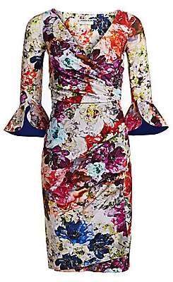 Chiara Boni Women's Triana Floral Wrap Dress