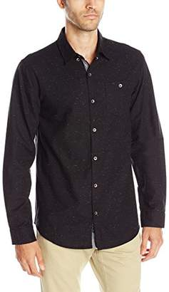 Burnside Men's Infinity Long Sleeve Button Down Woven Shirt