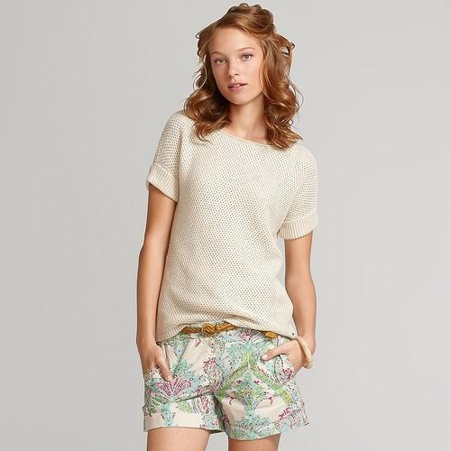 Tommy Hilfiger Women's Short Sleeved Sweater