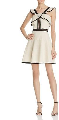 AQUA Ruffle Dress - 100% Exclusive $118 thestylecure.com