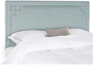Safavieh Remington Linen Blend Headboard, Sky Blue