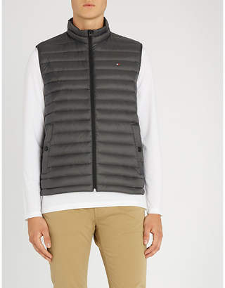 Tommy Hilfiger Padded shell-down sleeveless jacket