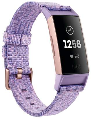 Fitbit Womens Lilac Charge 3 - Purple