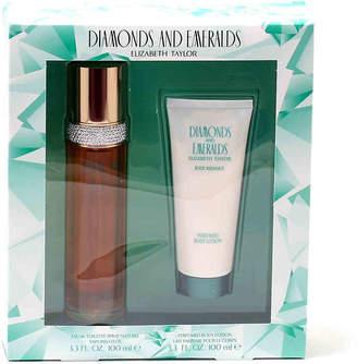 Elizabeth Taylor Fragrance Diamonds & Emeralds Eau de Toilette Spray Set - Women's