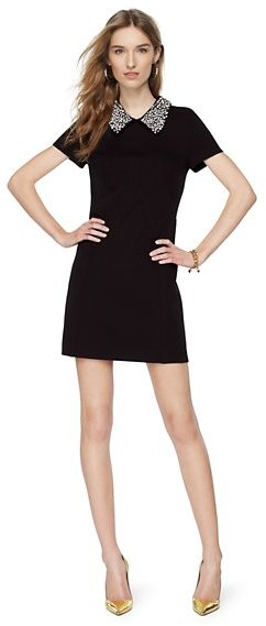Juicy Couture Embellished Collar Ponte Dress