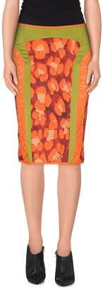 Just Cavalli Knee length skirts - Item 35268096MN