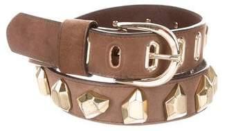 Diane von Furstenberg Studded Leather Belt