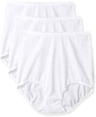 Shadowline Women's Panties-Seamless Nylon Brief (3 Pack)