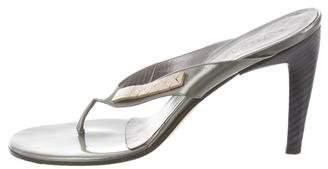 Bottega Veneta Embellished Thong Sandals