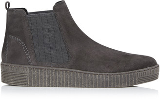 Gabor Suede Creeper Ankle Boot
