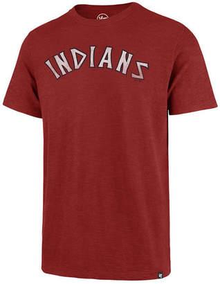 '47 Men's Cleveland Indians Scrum Logo T-Shirt