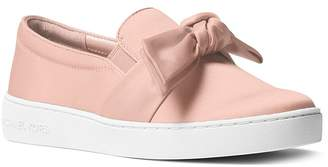 MICHAEL Michael Kors Women's Willa Satin Bow Slip-On Sneakers